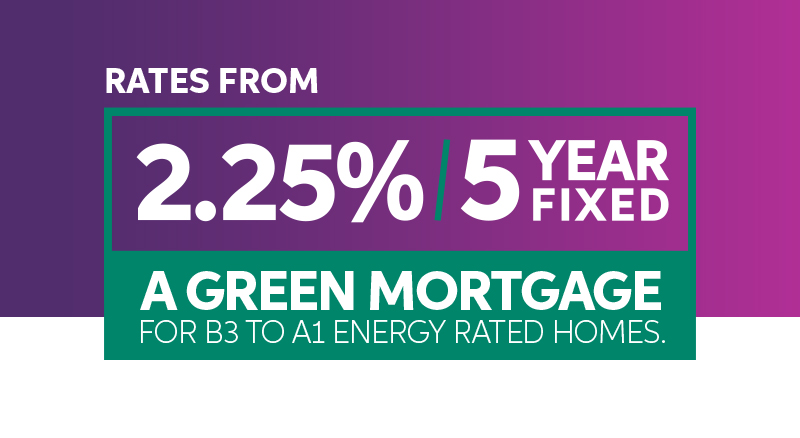 Introducing our new Green 5 Year Fixed Rate.