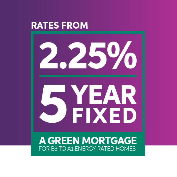 Introducing our new Green 5 Year Fixed Rate of 2.5%.