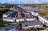 Aerial view of new housing estate